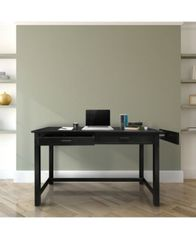 Image of Jefferson Work Desk with Concealed Side Drawer, Concealment Furniture