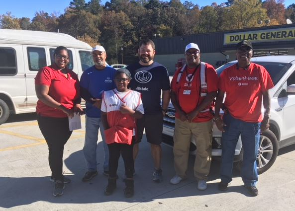 Ronald Hall - Allstate Foundation Grant for Alabama American Red Cross