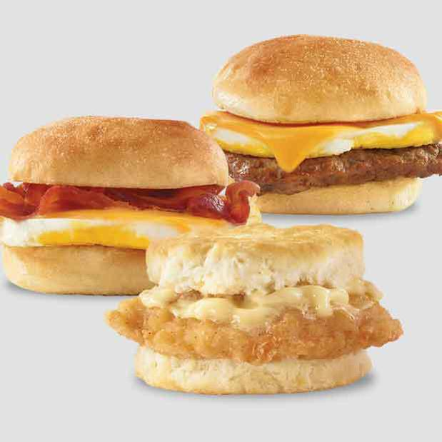 Wendy's 2 for $4 Breakfast