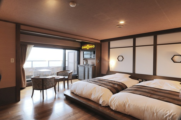 Stay Japanese-Western style room Yunoza