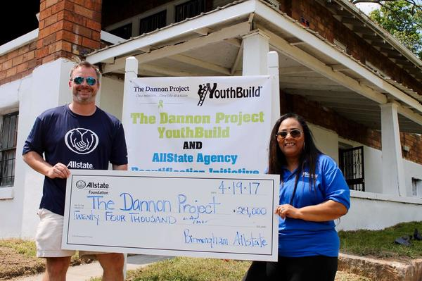 Red Mountain Insurance Group - Allstate Foundation Helping Hands Grant Helps The Dannon Project