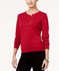 Image of August Silk Crew-Neck Cardigan