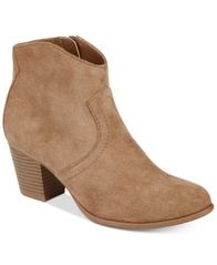 Image of American Rag Rylie Western Ankle Booties, Created for Macy's
