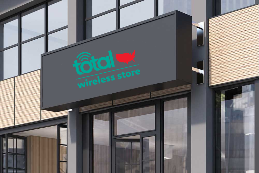 Total Wireless Store front image in Conover,  NC