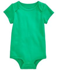 Image of First Impressions Cotton Bodysuit, Baby Girls or Baby Boys, Created for Macy's