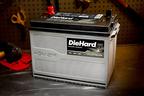 DieHard Car Battery