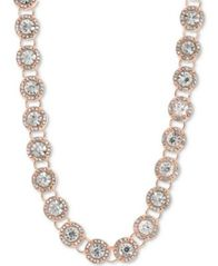 "Image of Anne Klein Crystal & Pavé Collar Necklace, 16"" + 3"" extender"