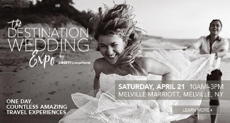 Join us on Saturday, April 21 for the first annual Liberty Group Travel Destination Wedding Expo.