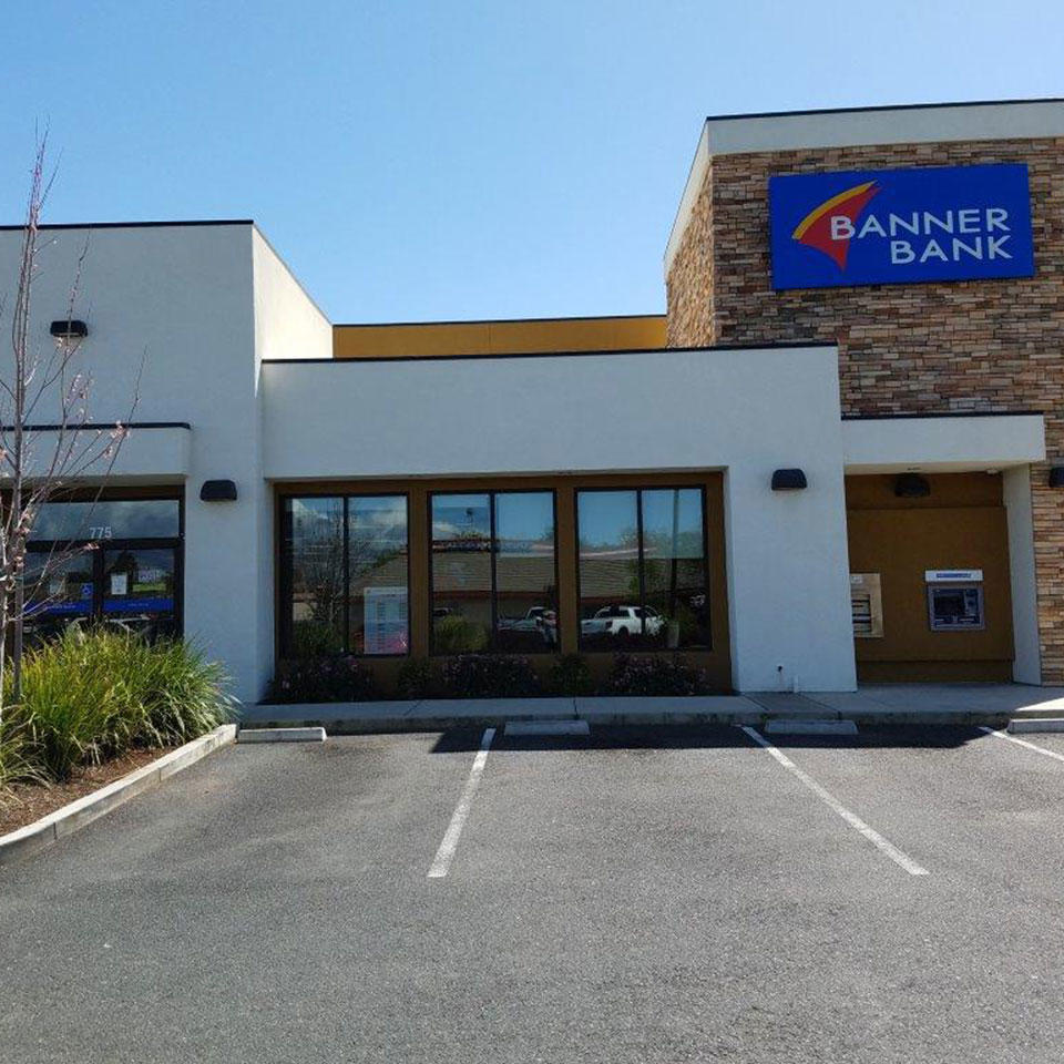 Banner Bank branch in Chico, California