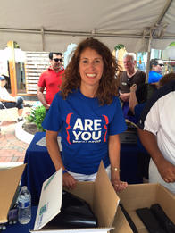 Volunteering in the community is part of being an Allstate insurance agent.