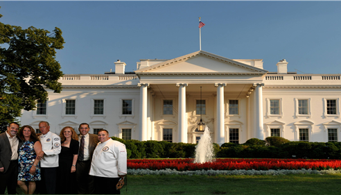 White House Chef Dinner after Sponsored Charity Aevent