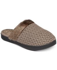 Image of Isotoner Signature Women's Knit Erin Clog Slippers
