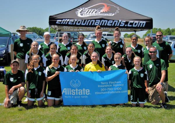 Terry Fincham - We supported the local  Hagerstown Soccer club in their recent tournament