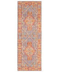 "Image of French Connection Marley Colorwashed Kilim 22"" x 61"" Accent Rug"