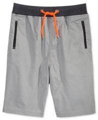 Image of Univibe Drawstring Cotton Shorts, Big Boys (8-20)