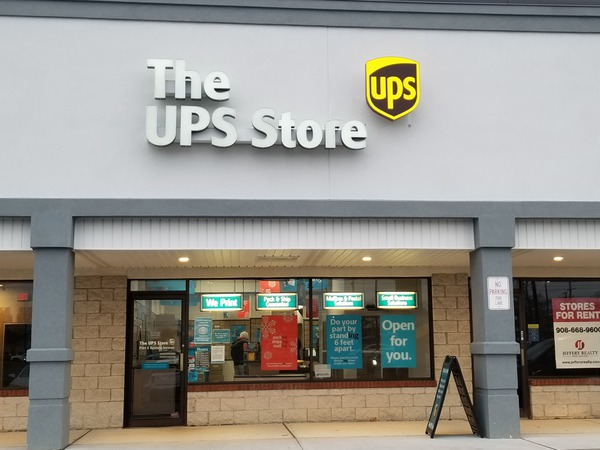 Storefront of The UPS Store in Toms River, NJ