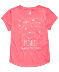Image of Max & Olivia Graphic-Print Pajama Shirt, Little Girls & Big Girls, Created for Macy's