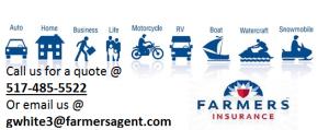 Farmers Insurance Quote Prepossessing Greg White  Farmers Insurance Agent In Lansing Mi