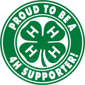 Supporter of the 4H Program