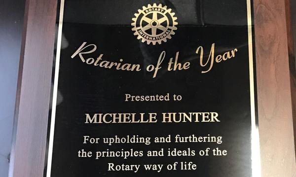 Rotarian of the Year 15/16