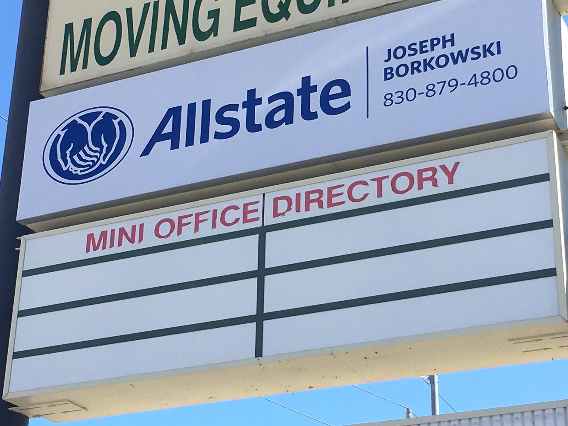 Allstate | Car Insurance in San Antonio, TX - Joseph Borkowski