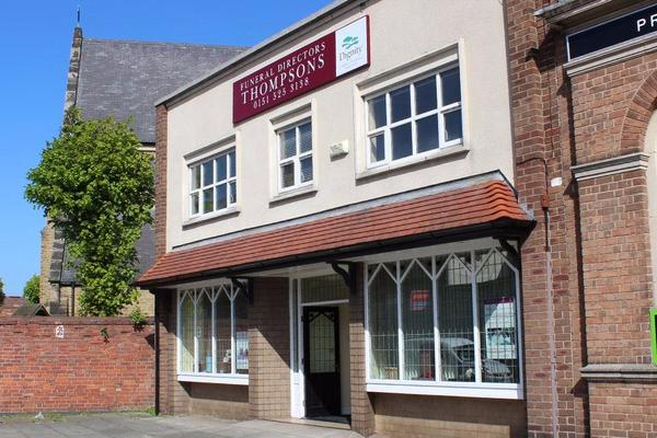 Thompsons Funeral Directors in Walton Vale, Liverpool
