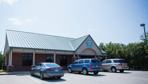 Members Choice Credit Union Grand Parkway Branch Front Entrance View