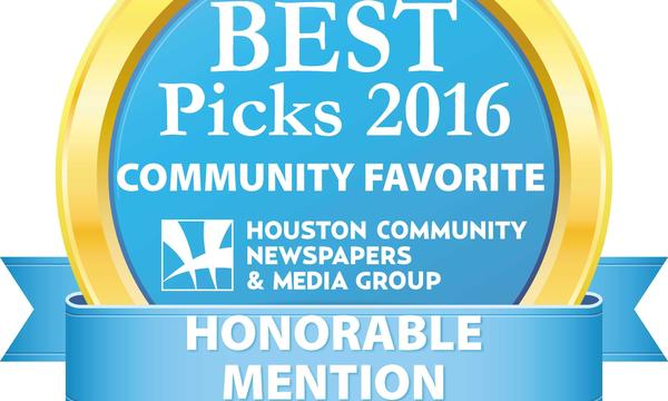 Pearland Journal Reader's Choice Honorable Mention