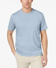 Image of Tasso Elba Men's Supima® Blend Crewneck Short-Sleeve T-Shirt, Created for Macy's