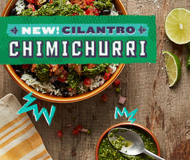 New! Cilantro Chimichurri – Make any entrée oh so bueno! Picture