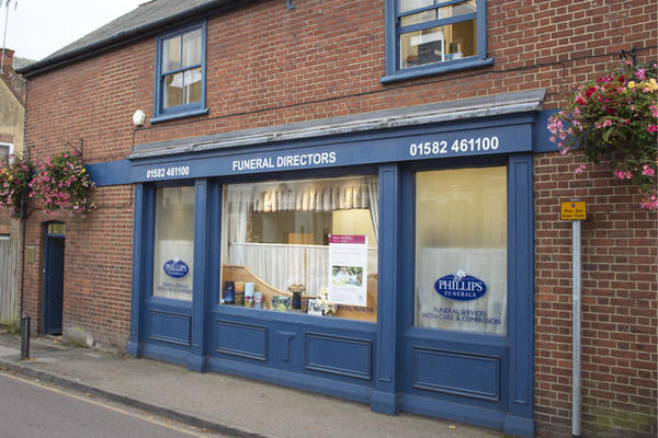 Phillips Funeral Directors in Harpenden, Hertfordshire.