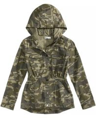 Image of Epic Threads Hooded Camouflage Jacket, Big Girls, Created for Macy's