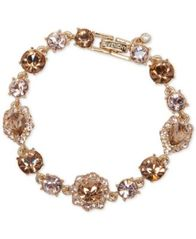 Image of Givenchy Stone and Crystal Link Bracelet