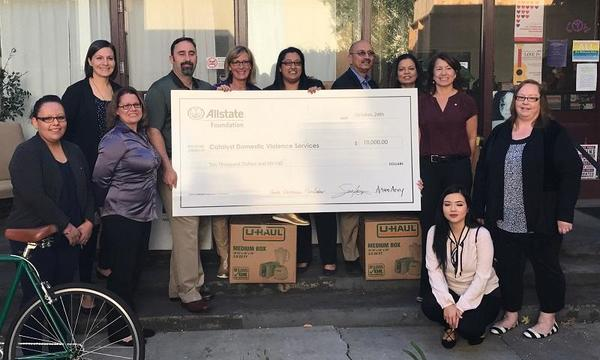 Sonia Aery - Allstate Foundation Grant for Catalyst Domestic Violence Services