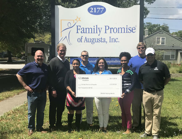 Rick Kilpatrick - Allstate Foundation Helping Hands Grant for Family Promise of Augusta