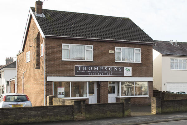 Thompsons Funeral Directors in Maghull, Liverpool