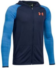 Image of Under Armour UA Threadborne Siro Full-Zip Hoodie, Big Boys