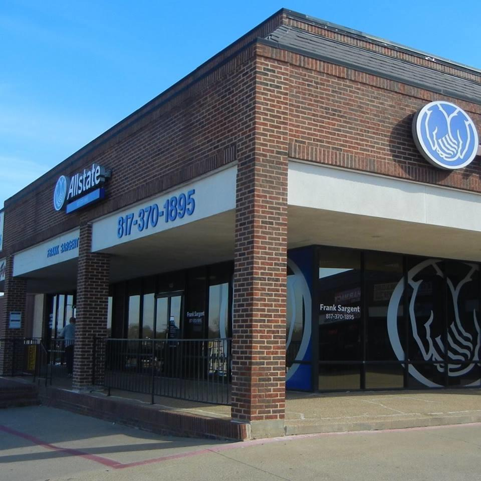 allstate car insurance in fort worth tx frank sargent