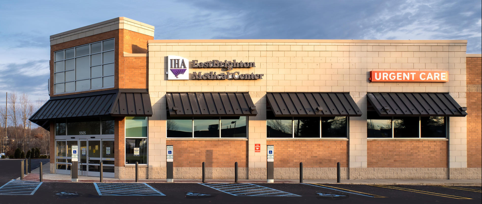 IHA Urgent Care EastBrighton is located in the IHA EastBrighton Medical Center.