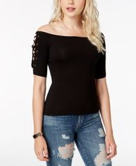 Image of GUESS Catrina Off-The-Shoulder Top