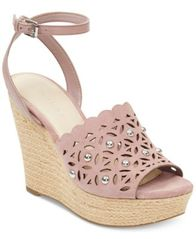 Image of Marc Fisher Hata Platform Wedge Sandals