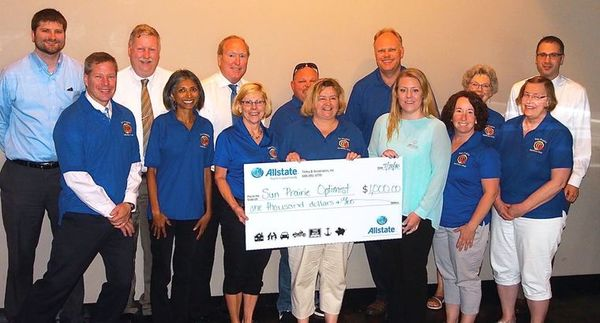 Monica Titley - Sun Prairie Optimist Club gets $1,000 from Allstate Foundation