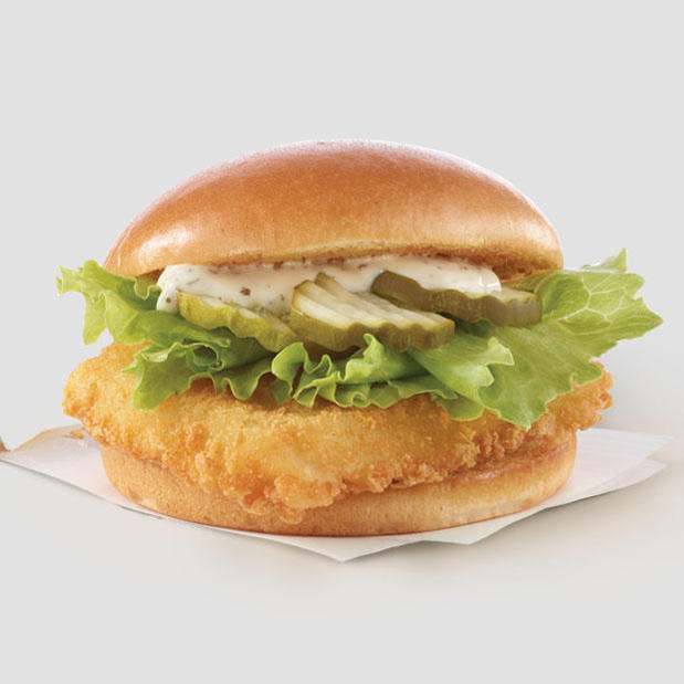North Pacific Cod Sandwich