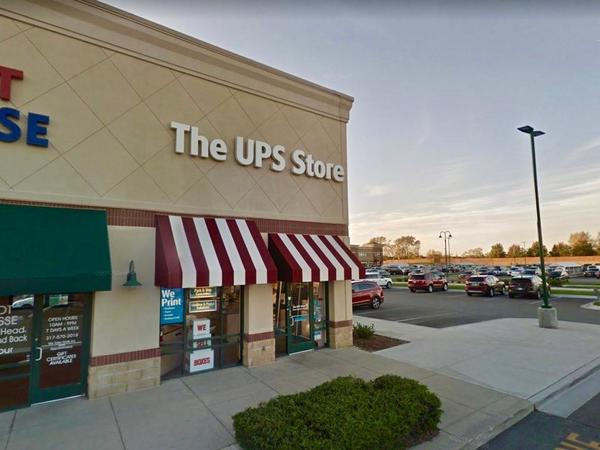 Facade of The UPS Store Fishers