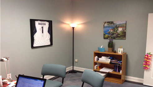 Welcome to Mary's office! She'll be happy to chat about coverage with you.