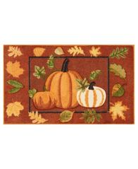 "Image of Nourison Pumpkins 18"" x 30"" Accent Rug"