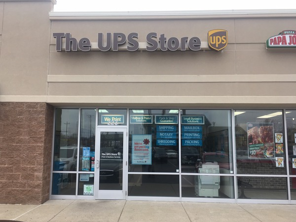 Facade of The UPS Store Sikeston