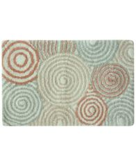 "Image of Bacova Galaxy Cotton 20"" x 30"" Spiral Accent Rug"