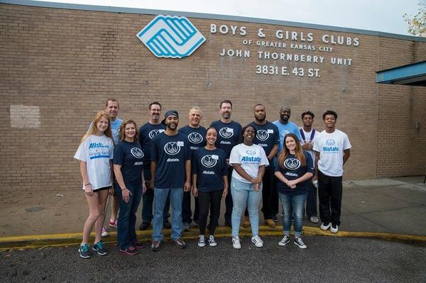 Tony Reinhart - Allstate Foundation Grant for the Boys and Girls Clubs of Greater Kansas City