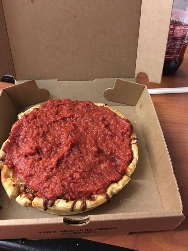 Chicago Style pizza, a personal fave.